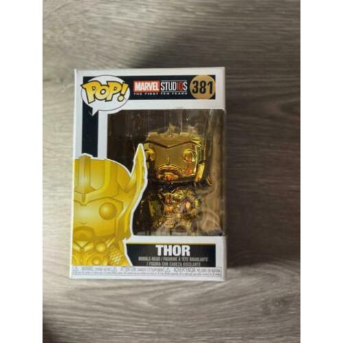 Funko POP! Marvel - Thor gold limited edition #381