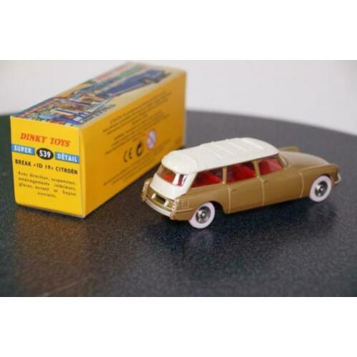 Citroën ID 19 break - Dinky Toys 539 - ATLAS