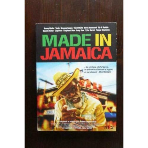 dvd MADE in JAMAICA FILM by LAPEROUSSAZ reggea nwst