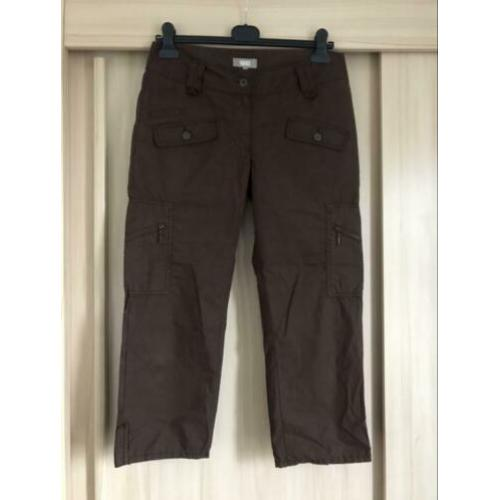 Stoere broek 7/8 Chino short bruin We fashion 38 M