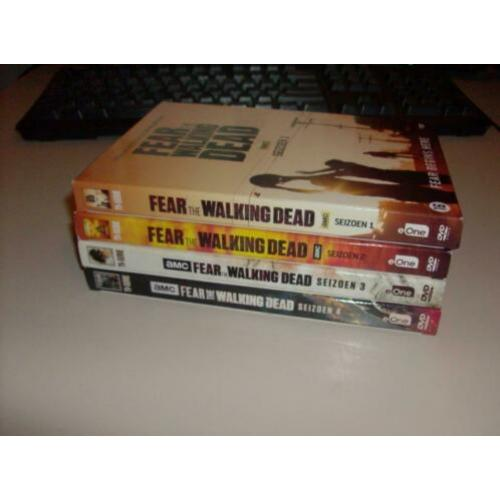 Seizoen 1 t/m 4 - Fear the Walking Dead - 16 Discs