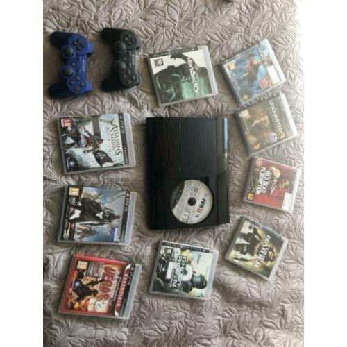 PlayStation 3 incl. games en 2 controllers